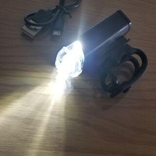 【ネット決済・配送可】新商品☆明るい!USB 充電型 自転車、M...