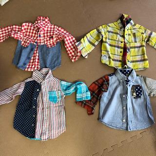 男の子長袖シャツ4枚セット 80〜95