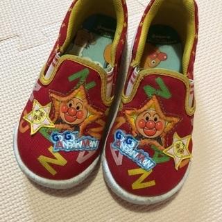アンパンマン☆スリッポン風スニーカー 17cm