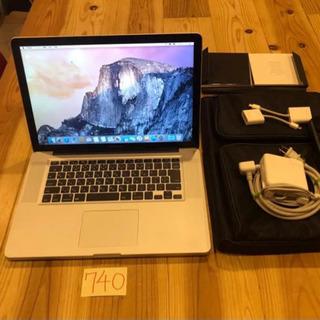 【ネット決済・配送可】値下げしました!付属品多数!MacBook...