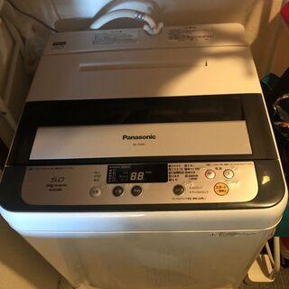 ★お譲りします★パナソニック 全自動洗濯機 5Kg 201…