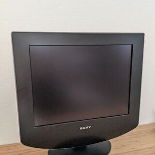 SONY アナログ液晶テレビ15インチの画像