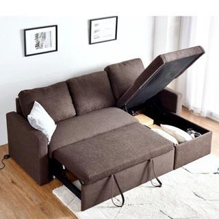 IKEA 三人掛け ソファベッド FRIHETEN フリーヘーテン