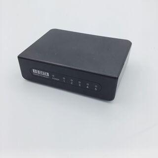 I•O DATA アイ・オー・データ機器 有線LAN 5ポート 黒
