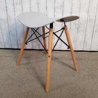 スツール 脚木製 座面硬化プラスチック - 宇治市