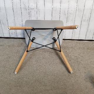 スツール 脚木製 座面硬化プラスチック - 売ります・あげます