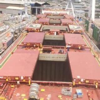 素人可能☆因島にある造船所内で配管工☆