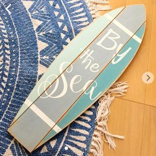 木製サーフボード 壁掛け