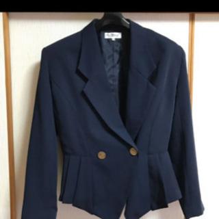 スーツ上下セット ネイビー 紺色