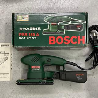 〈値下げ〉ボッシュ 集塵機能付きオービタルサンダー 中古