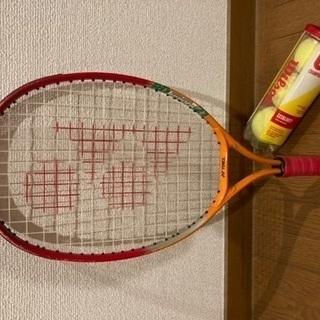 未就学児用 テニスラケット & ボール3個