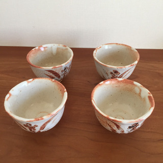 [無料]湯呑み茶碗 陶器 4個セット