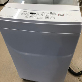 【美品】2019年製 ニトリ 電気洗濯機 6.0kg NT…