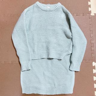 セーター レディース お尻や太もも隠せるデザイン