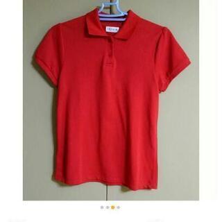 ❤レプシェムの赤色ポロシャツ♪(M)♪❤