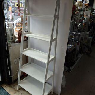 飾り棚 ラック シェルフ オープンシェルフ 幅64 高さ180 奥行最大39cm - 札幌市