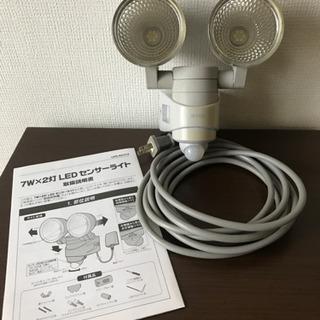 ムサシ RITEX 7W×2灯 LEDセンサーライト