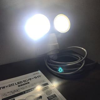 ムサシ RITEX 7W×2灯 LEDセンサーライト  - 京都市