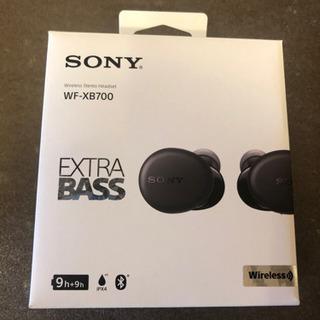 ソニーEXTRA  BASS  wf-xb700