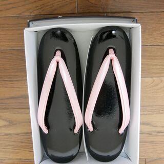 草履 ピンク色