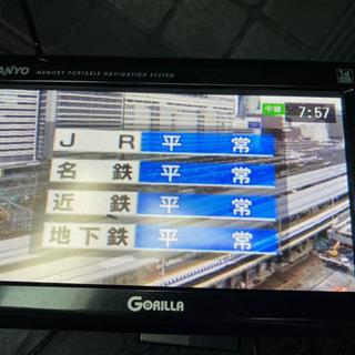 SANYO ポータブルナビ GORILLA NV-SD58…