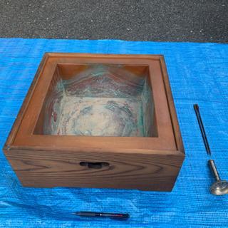 昭和レトロ、木製火鉢【プロフィール必読】‼️