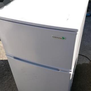 激安☆2018年製 ヤマダ電機 冷蔵庫 2ドア 90L☆