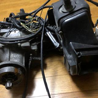 ジャイロUP TA01 エンジン 実働 セルモーター ハブ付