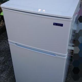 激安☆2019年製 ヤマダ電機 冷蔵庫 2ドア 90L☆