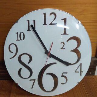【お譲り先決定】電池式 壁掛け時計
