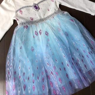 キッズドレス130  チュールワンピース クリスマス衣装 パーテ...