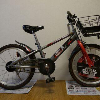 【値下げ】子供用自転車(STAR WARS)18インチ