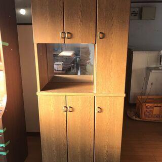 《市内送料無料》鏡付き棚 モイス キッチンカウンター 収納…