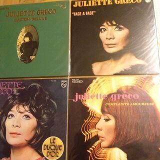 レコード LP ジュリエット・グレコ シャンソン