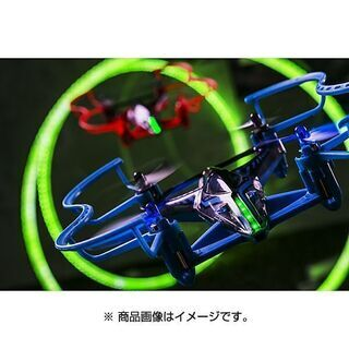 新品!76%OFF レーシングドローン 日本おもちゃ大賞 気圧センサー ジャイロセンサー 専用アプリ 超音波コネクト バトル レース - おもちゃ