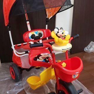 アイデスカーゴドーム 三輪車 ミッキーマウス