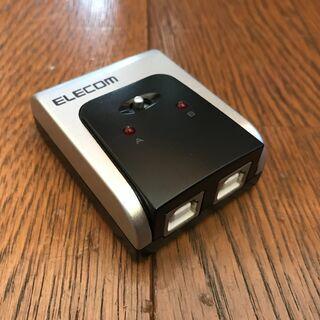 ELECOM  USB2.0対応切替器  U2SW-T2