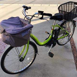 【取引中】電動アシスト自転車YAMAHA 2014年9月購入