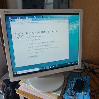 パソコンディスプレイ NEC LCD172VXM
