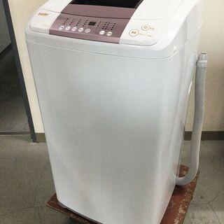 美品!ハイアール Haier 全自動洗濯機 省スペース JW-KD55B 5.5㎏ 2016年製 保証ありの画像