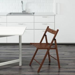 【ネット決済】ほぼ未使用!IKEA 折りたたみチェア TERJE...