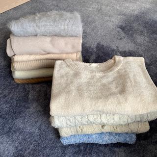 冬物9着差し上げます(セーター類)【着用回数少なく全体的に綺麗めです】