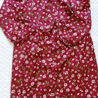 子供服(ブランシェス) 花柄ガウンワンピース 150cm