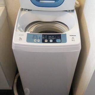 日立全自動電気洗濯機NW-5TR 2015年製