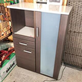 キッチンカウンター レンジボード キッチン収納 ハイカウン…