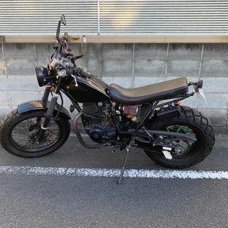 YAMAHA  TW200 カスタム ブラック