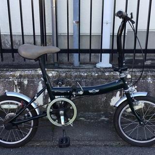 ♡可愛いMINI(ミニ) 16インチ・折りたたみ自転車