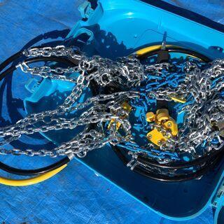 ★未使用★雪道楽NEO HA-02 タイヤチェーン カー用品 10mmチェーン 扁平タイヤ - 車のパーツ