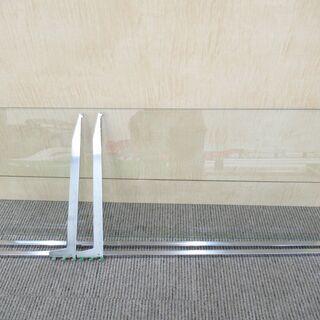店舗什器用 ガラス棚セット