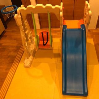【ネット決済】室内用ブランコ&滑り台